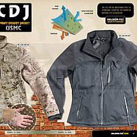 Куртка COMBAT Trilaminat/Fleece Black