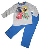 Пижама для мальчиков (Тачки) 6 лет