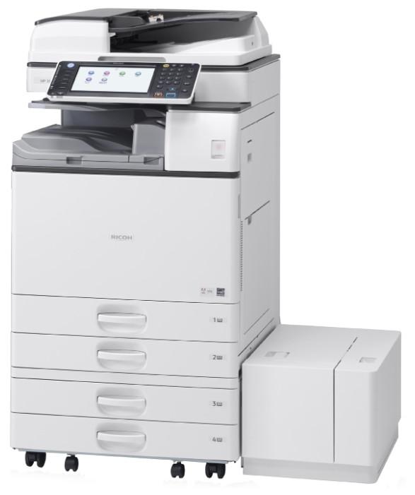 МФУ Ricoh Aficio MP 5054AZSP для не больших офисов. Монохромная печать формата А3. Жесткий диск 320 Gb. Принте