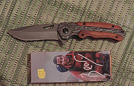 Нож тактический Гербер (Gerber) Bear Grylls - полуавтоматический. Клипса для ношения, копия
