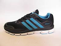 Кроссовки мужские  Adidas Adizero  текстиль, синие с голубым (адидас клима кул)(р.41,44)