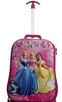 Детский чемодан на 6 колесах Princess