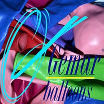 """10""""(26см) латексные воздушные шары Gemar (Италия)"""