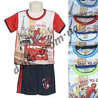 Котоновый летний костюм для мальчиков M1 (4-8 лет) оптом со склада в Одессе