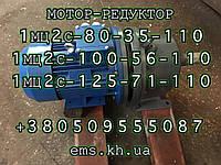 Мотор-редуктор 1МЦ2С-125-56-5,5кВт-110