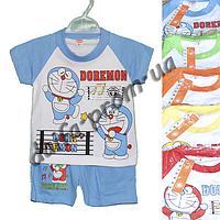Котоновый летний костюм для мальчиков M7 (1-4 года) оптом со склада в Одессе