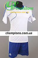 Футбольная форма для команд Adidas Адидас белый синий