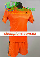 Футбольная форма для команд Adidas Адидас оранжевая