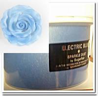 """Sugarflair""Сухая краска для цветов ""ELECTRIC BLUE"" (Электрик голубой)"