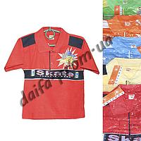 Детская котоновая футболка поло MR4 (3-7 лет) оптом со склада в Одессе (7км).