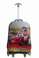 Детский чемодан на 6 колесах Тачки