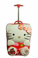 "Детский чемодан 16"" на колесах Hello Kitty(Хелло Китти)"