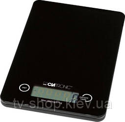 Весы кухонные Clatronic black