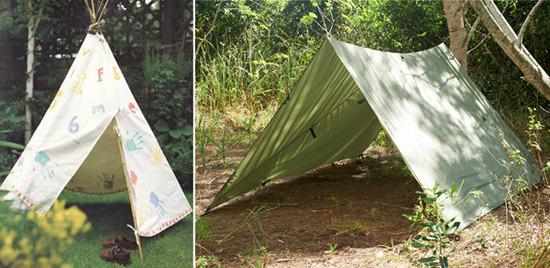 шатры самодельные