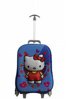 Детский чемодан на 3-х колесах Hello Kitty(Хелло Китти)