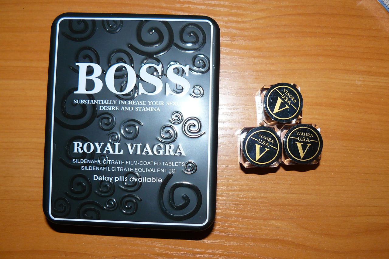 boss таблетки для потенции