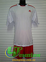 Футбольная форма для команд Adidas Адидас белый красный