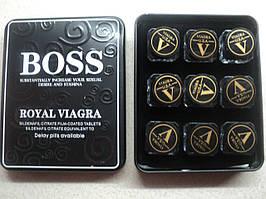 """Королевская Вигра босс """"boss royal Vigra"""" Вигра для потенции  27 таблеток в  упаковке"""