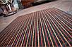 Коврик грязезащитный Полоска Два цвета, 40х60см., оранжевый с красным, фото 8
