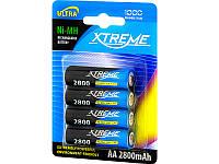 Батарейка аккумулятор R6 Ni-MH AA 2800mAh XTREME 4шт