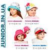 Річна капелюшок панама для дівчинки.Бавовна.52,54,56 р, фото 6