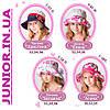Річна капелюшок панама для дівчинки.Бавовна.52,54,56 р, фото 7