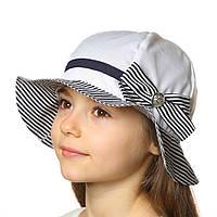 Летняя шляпка панамка для девочки .Хлопок., фото 1