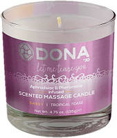 Свеча для массажа DONA SCENTED MASSAGE CANDLE - SASSY