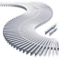 Переливная решетка Kripsol 195мм Curved 20