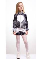 """Детский костюм """"Сердце"""" кофта+лосины+шорты, фото 2"""