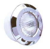 Прожектор Standart с нержавеющей накладкой 300 Вт/12 В под пленку