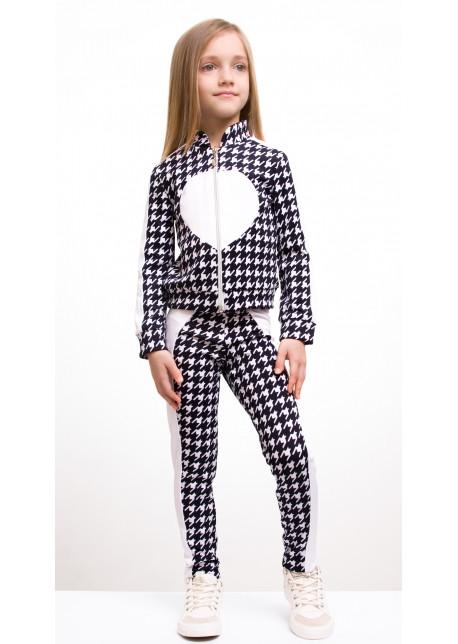 """Детский костюм """"Сердце"""" кофта+лосины"""