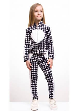 """Детский костюм """"Сердце"""" кофта+лосины, фото 2"""