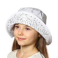 Летняя шляпа-панама для девочки.Хлопок., фото 1