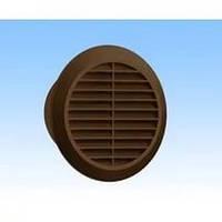 Вентиляционная решетка круглая коричневая KRO