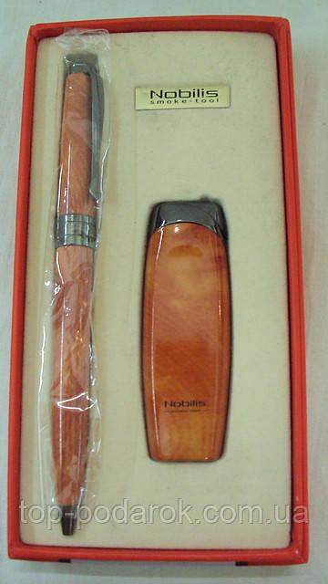 Набор ручка+зажигалка