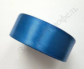 """Атласная лента для декора """"Синий электрик"""" h-2.5см"""