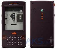 Корпус Sony Ericsson W950 с клавиатурой Black