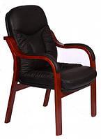 Конференц-кресло Буффало CF кожа люкс чёрная