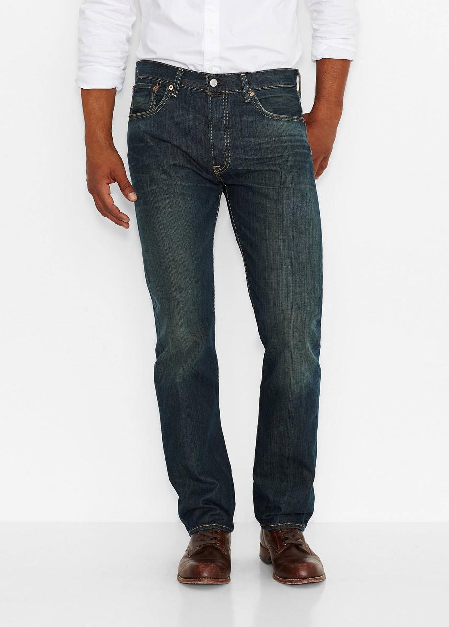 Джинсы Мужские Levi s 501 Original Fit Jeans— 18 Months Green New — в  Категории
