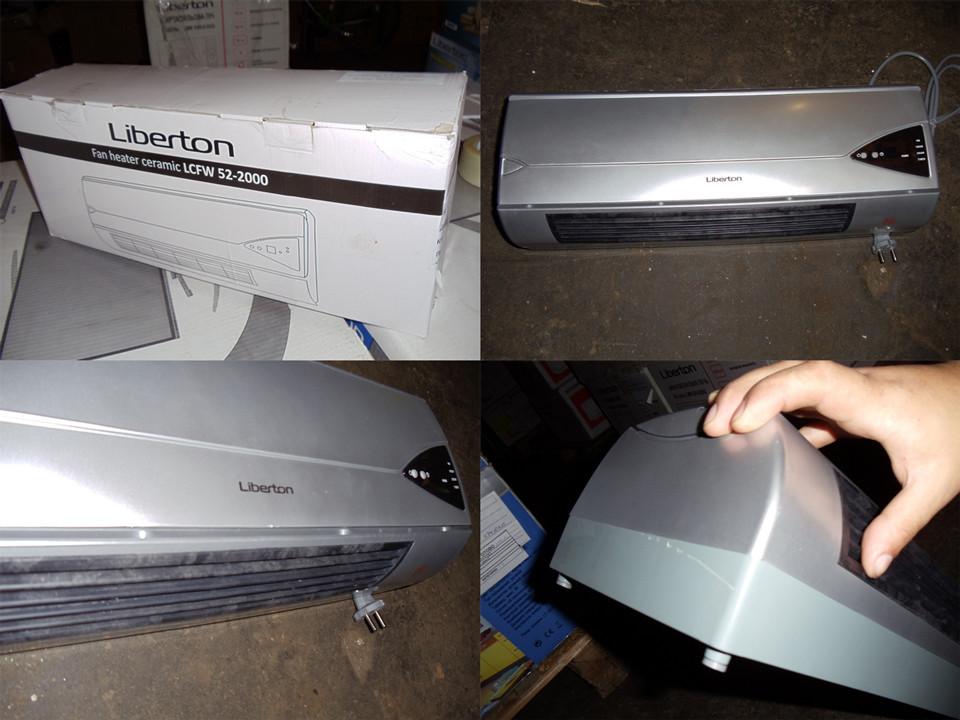 Тепловентилятор керам. LIBERTON LCFW52-2000