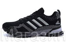 Женские кроссовки Adidas Marathon 15 беговые Адидас Марафон черные, фото 2