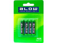 Батарейка BLOW SUP. HEAVY DUTY AAA R03P упаковка 4шт