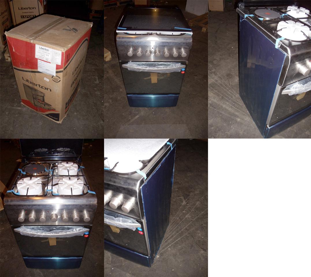 Плита LIBERTON LGEC 5060 G-3 (IX)