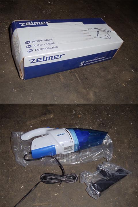 Пылесос ZELMER ZVC001XX (01Z015 Blue для автомобиля)