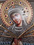 Елітна ікона Божої Матері Семистрельная скань, фото 4