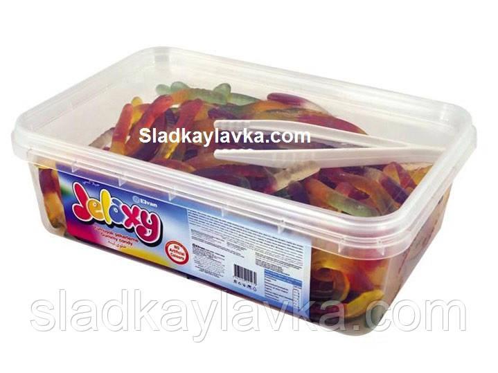 """Желейная конфета Черви Jelaxy 600 г (Elvan)  - Интернет магазин """"Сладкая Лавка"""" в Днепре"""