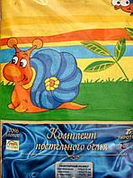 """Комплект постельного белья Тиротекс бязь """"Улитка"""", фото 1"""