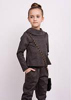 """Школьный костюм """"Гвен"""" кофта+брюки+шорты"""