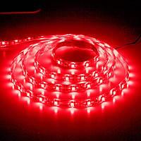 Светодиодная лента LS603/LED-RL 60SMD(3528)/m 4.8W/m 12V 5m*8*0.22mm красный на белом (блистер) IP20, Feron